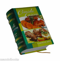 Comida Casera 2. Carnes Y Aves. Los Libros Mas Pequeños Del Mundo. +100 Recetas