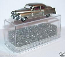 MICRO PRALINE HO 1/87 CADILLAC 54 CADDY LIMOUSINE GRIS CLAIR METAL IN BOX 2