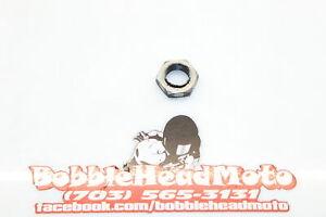 17-20 Yamaha Yzf R6 Oem Nut Front Sprocket B5