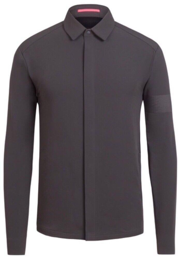 Rapha Softshell Overshirt Carbon Grey BNWT Size M
