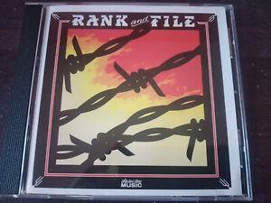 RANK AND FILE - Sundown CD New Wave / Cow Punk
