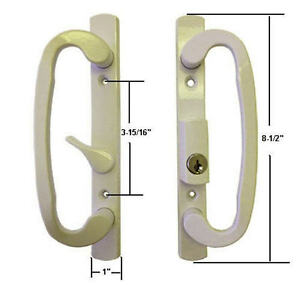 Sash Controls Mortise Style Patio Handle B Position