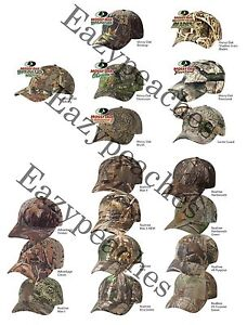 Kati-Structured-Camo-Hunting-Cap-Mossy-Oak-Duck-Blind-Treestand-Baseball-Hat