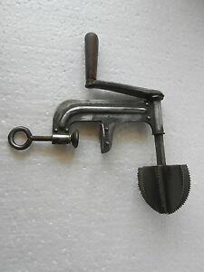 Rare-Old-Iron-039-039-Ceylon-039-039-Vernice-N-3552-22-Unico-Mixer-Macinino-Macchina