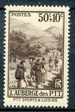 STAMP/ TIMBRE FRANCE NEUF N° 347 ** SPORT / L'AUBERGE DES LOISIRS