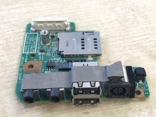 Dell Latitude E5400 USB DC Audio Socket Board 48.4X704.011 CN-0C959C C959C