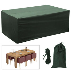 Brilliant Details About Waterproof Garden Furniture Cover Rectangular Cover Patio Table Set Protector Download Free Architecture Designs Scobabritishbridgeorg