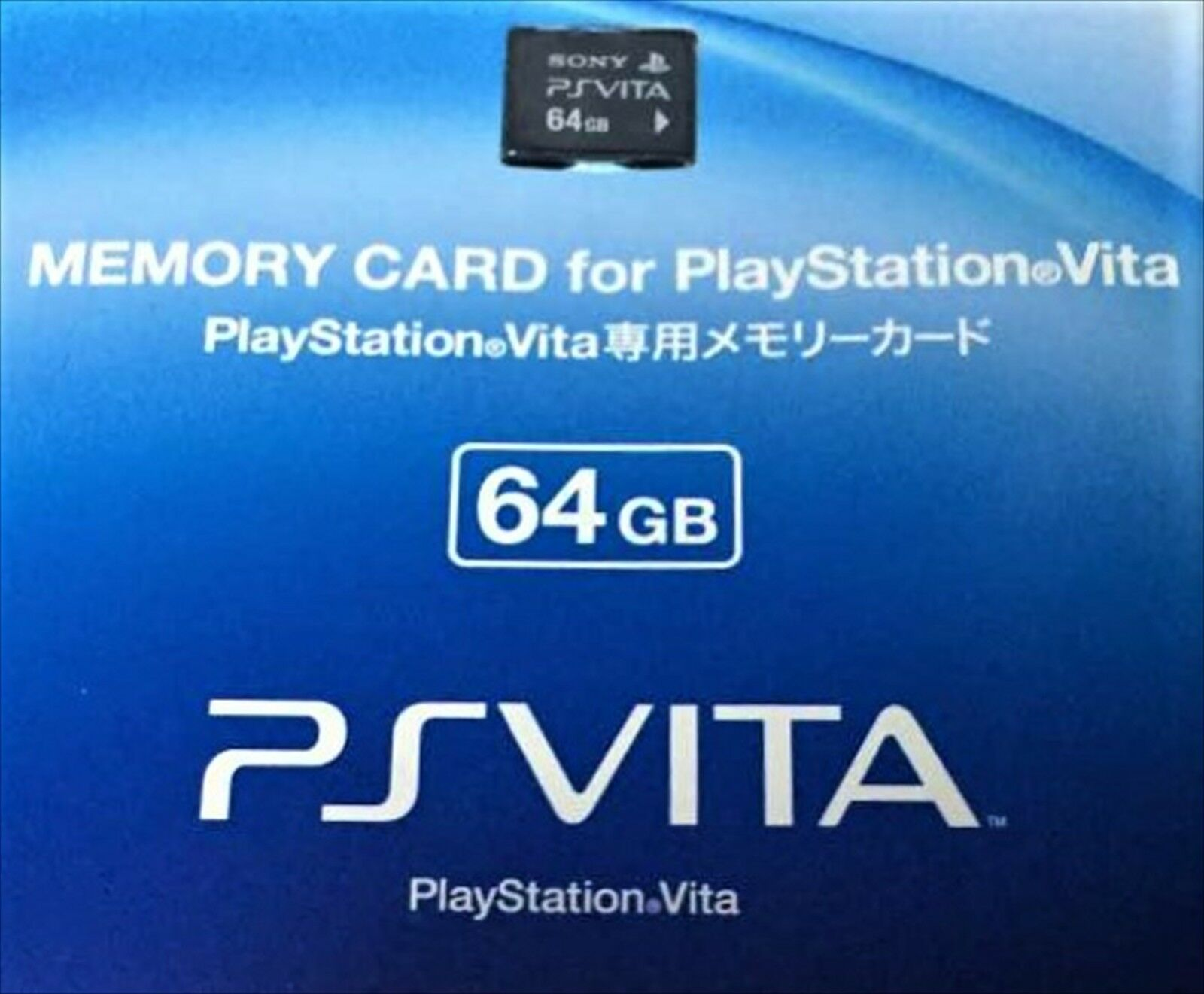 SONY GENUINE Playstation PSV PS Vita Memory Card Formatted 64 GB