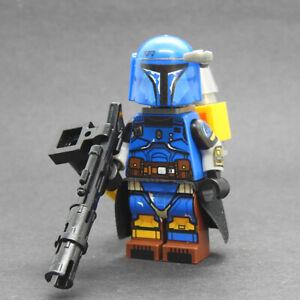 Custom-Paz-Vizsla-Star-Wars-Heavy-Armored-Mandalorian-minifigures-lego-bricks
