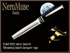 Eclipse! Medium Nib SILVER Pen Pelikan Cartridge Original Model New Trend