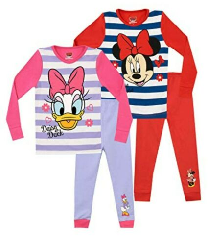Minnie Mouse /& Daisy Duck PJs Twin Pack aged 2-3
