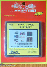 JL Innovative Design #506 Loading Dock Detail Set -- Kit (1:87th Scale)