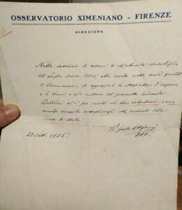 1926-109-LETTERA-DEL-GRANDE-GEOLOGO-E-SISMOLOGO-FIORENTINO-PADRE-GUIDO-ALFANI