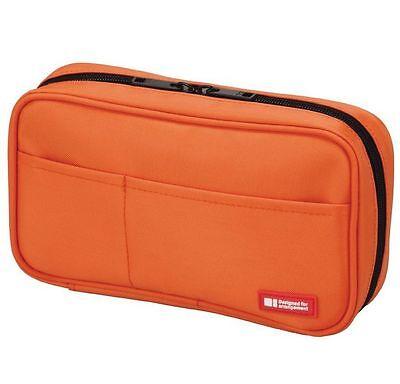 Lihit Lab Teffa Pen Case - Book Style Orange
