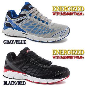 Mens Fila Shoes With Memory Foam