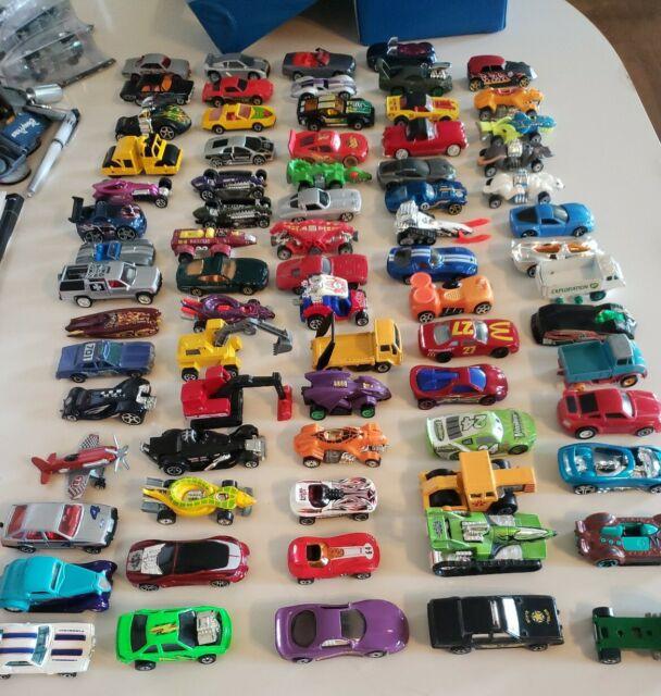 LOT of 10 Random Hot Wheels, Matchbox, Disney, Johnny Lightning, ERTL, New, Old