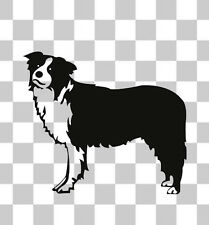 Border Collie Sheep Farm Dog Puppy Car Van Bumper Window Laptop Decal Sticker