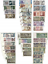 thumbnail 1 - COMPLETE SET OF 38 COPIES AUSTRIAN BANKNOTES 1945-1997 REPRODUCTIONS NOT REAL
