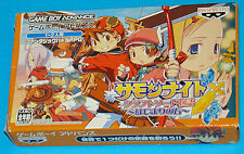 Summon Night - Craft Sword Story - Hajimari no Ishi - Game Boy Advance GBA Ninte