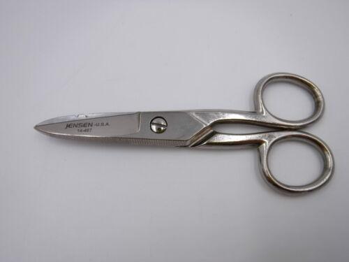 "Jensen Tools 100C Smooth Blade Electrician/'s Scissors 5-1//4/"" Long 14-467"
