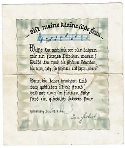 Details Zu Romantische Malerei Heidelberg 1944 Herz Kunst Gedicht Jahrestag