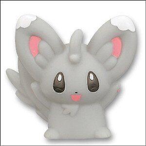 Minccino Pokemon Finger Puppet Mini PVC Figure Chillarmy