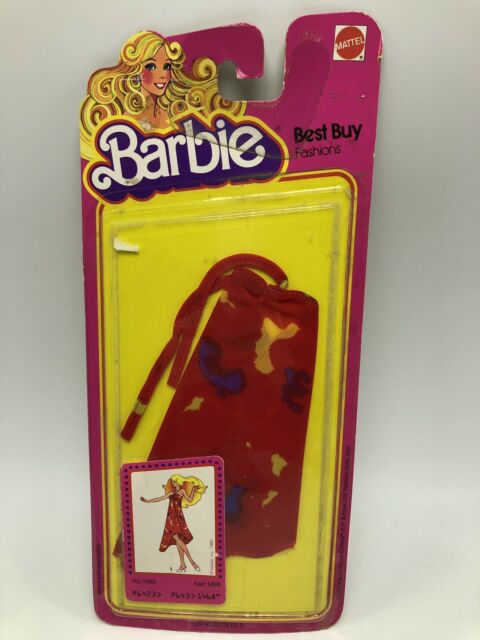 Vintage 1978 Mattel Barbie Best Buy Fashions #1469 Halter Dress