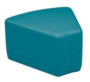 Surprising Details About Sprogs Vinyl Soft Seating Wedge 12 Inch Stool Seafoam Color Lamtechconsult Wood Chair Design Ideas Lamtechconsultcom