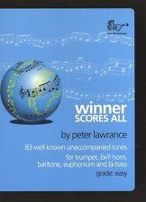 Ganador puntuaciones todos los agudos clave sol (trompeta) - mismo día P + P
