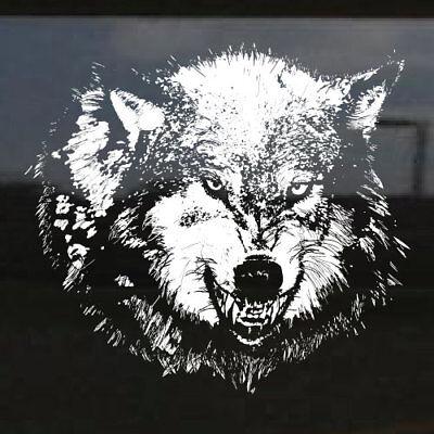 Wolf Werewolf lycanthrope Hood Tailgate Window Decal Truck Vehicle Car SUV Vinyl