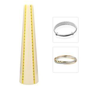 Pratique-Plastique-Bracelets-de-Mesure-Mandrin-Bracelet-Stick-Sizer-Bijoux-Outils