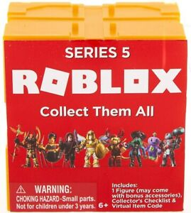 Roblox Series 5 Mystery Box Action Figure With Game Code Ebay