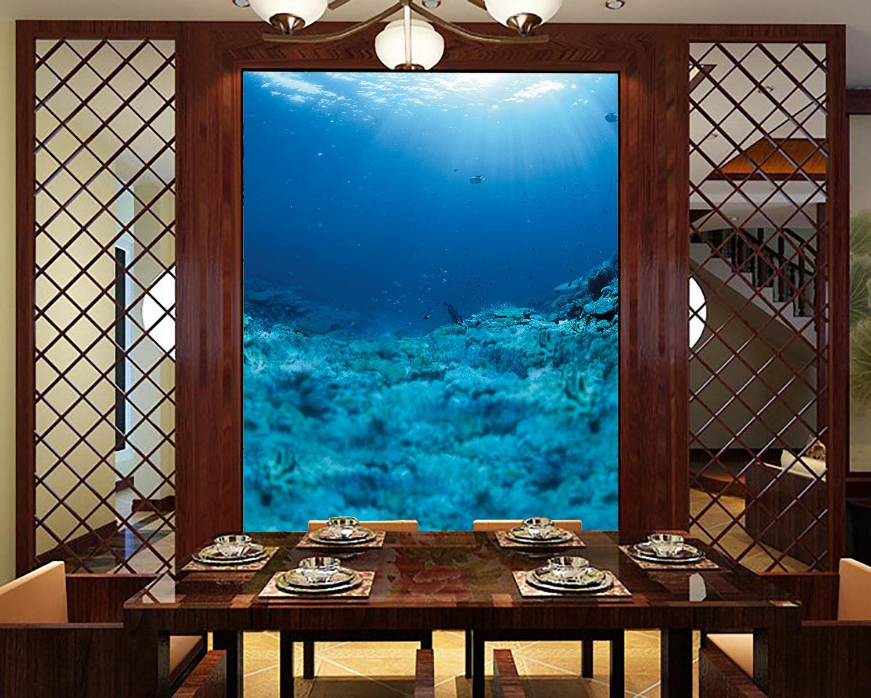 3D Deep Ocean 4251 WandPapier Murals Wand Drucken Wand Mural AJ WandPapier UK Lemon