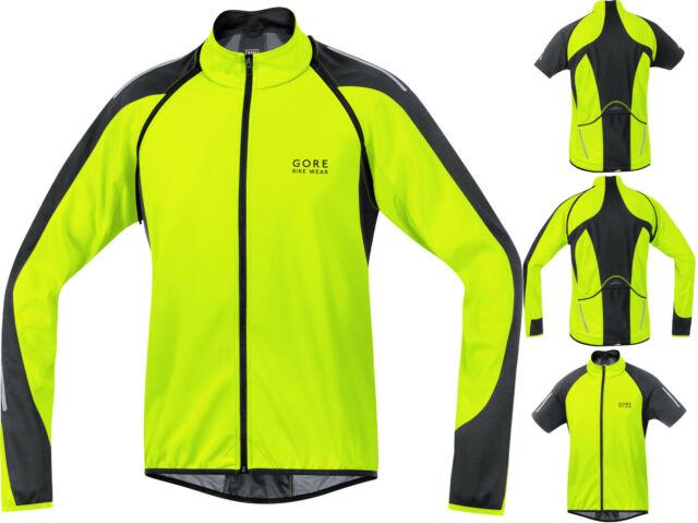 Gore Bike Wear Mens Power 2.0 Thermo Jersey XX-Large Black//White
