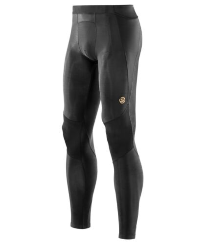 NEW Skins Compression A400 Mens Long Tights Black + FREE AUS DELIVERY