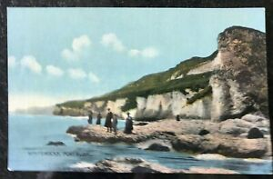 White-Rocks-Portrush-Postcard-Northern-Ireland-WA-Green-Belfast