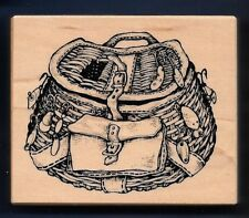 PSX FISHING BASKET CREEL LURES Sporting Goods G-1654 Petaluma Hobby RUBBER STAMP