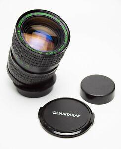 EX-M42-Mount-Quantaray-MC-28-80mm-f-3-5-4-5-Auto-Zoom-Lens-w-Macro-Screw-Mount
