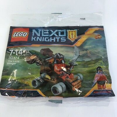 LEGO Nexo Knights THE LAVA SLINGER ASH LEGO SEALED POLYBAG 30374