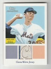 2010 TOPPS NATIONAL CHICLE NOLAN RYAN DIAMOND STARS G/W JERSEY CARD NUMBERED 1/1