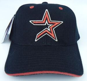HOUSTON-ASTROS-MLB-VINTAGE-STRAPBACK-1990s-RETRO-REPLICA-CAP-HAT-NWT-PUMA-ATA