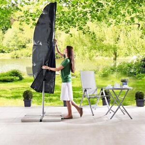 schutzh lle f r sonnenschirm ampelschirm bis 2 m bis 3 m oder bis 3 5 m ebay. Black Bedroom Furniture Sets. Home Design Ideas