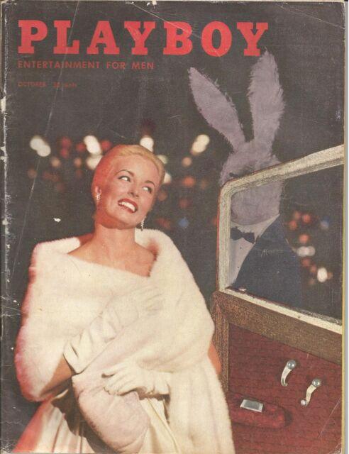 VINTAGE OCTOBER 1957  PLAYBOY     SALE