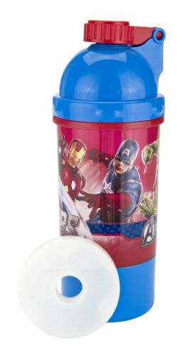 Good to Go Avengers Snack and Sip Canteen with Removable Ice Pack Iron man Hulk