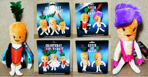 ALDI-Kevin-Carrot-amp-Family-Greatest-Showman-2019-Xmas-Decors-Toys-Various