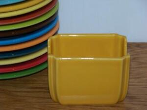 Fiesta-MARIGOLD-Sugar-Packet-Caddy-1st-Quality-Discontinued-Color