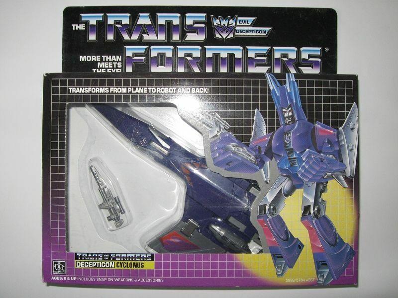 Transformers Cyclonus G1 Decepticon Nuevo Sellado + Galvatron Mini