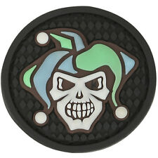 PVC Morale Patch - MAXPEDITION - JESTER SKULL - New for 2015 - GLOW