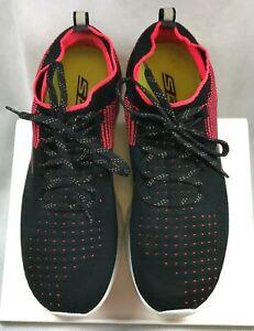 Skechers GORun 6 Black \u0026 Pink SN 15209