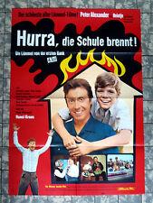 HEINTJE * Hurra die Schule brennt * A1-FILMPOSTER ´72 Peter Alexander LÜMMEL